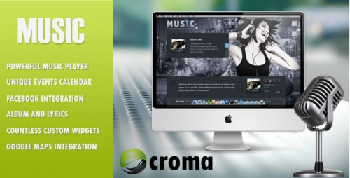 Music WordPress Musicians Theme