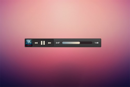 Simple Mini Music Player