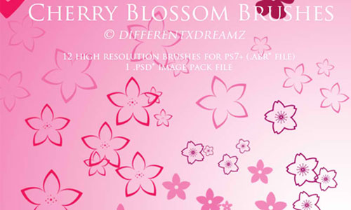 12 Sakura: Cherry Blossom Brushes