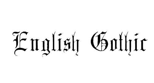20 Fabulous Free Old English Tattoo Fonts Inspirationkeys