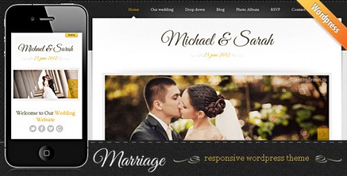 Marriage - Responsive Wedding WP Theme