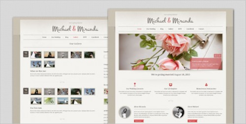Wedding - Elegant WordPress Theme
