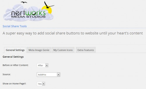 NertWorks All in One Social Share Tools