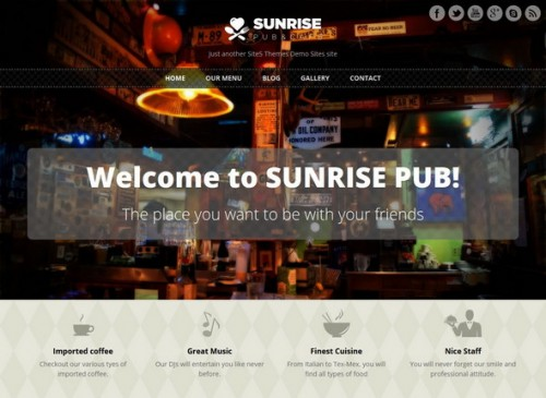 Free Sunrise Theme