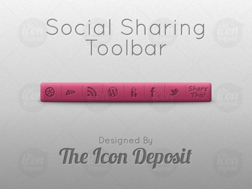 Social Sharing Toolbar