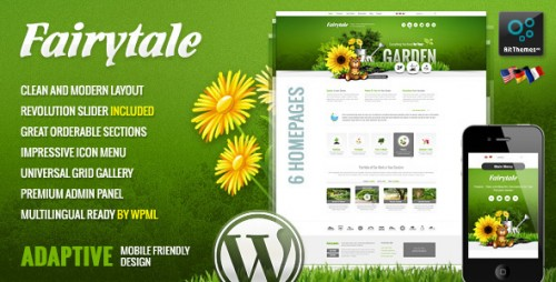 Fairytale - Business Presentation Adaptive WP Theme