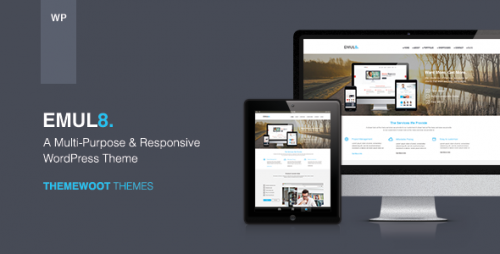 Emulate: Multi-Purpose Responsive WordPress Theme