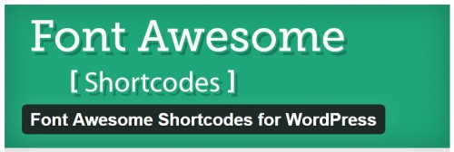 Font Awesome Shortcodes for WordPress