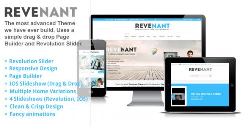 Revenant - Responsive Business WordPress Theme