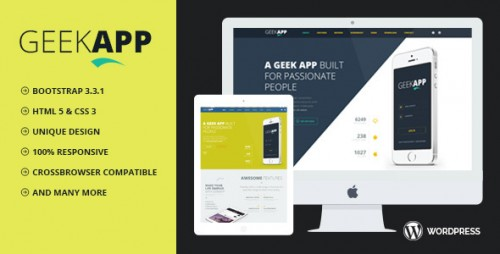 GeekApp - Creative WordPress Theme
