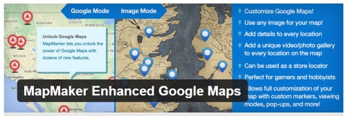 MapMaker Enhanced Google Maps