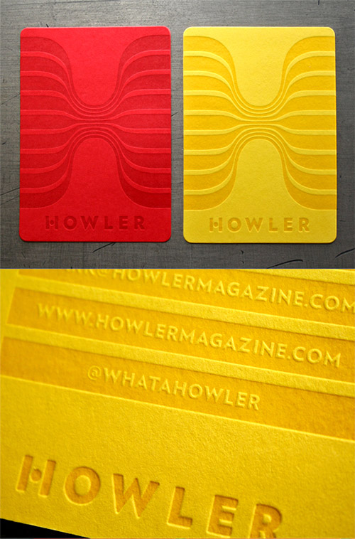 One Colour Business Cards