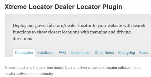 Xtreme Locator Dealer Locator Plugin