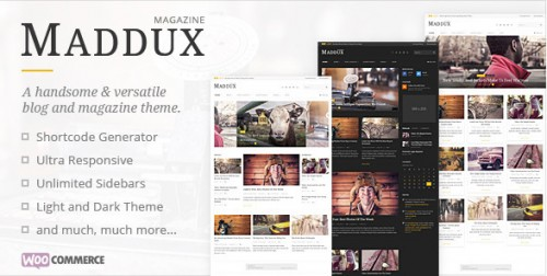 Maddux - Responsive News, Magazine & Blog Theme