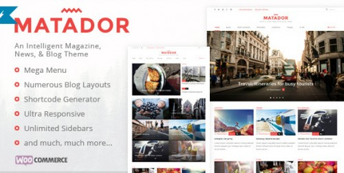 Matador - Responsive News, Blog, & Magazine Theme