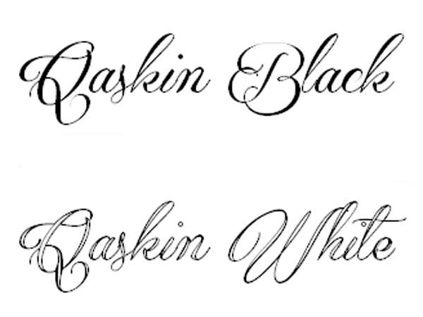 Qaskin Black Personal Use Fonts